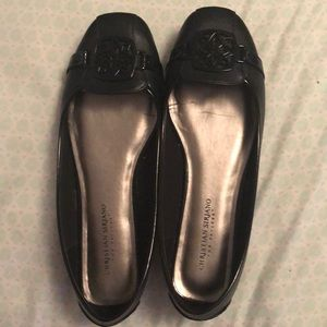 Christian Siriano Black Flats Like New